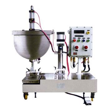 GJE01-06E-Y型数控称重式自动液体灌装机