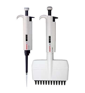 MicroPette 8道手动可调移液器(产品编码4000HF067)