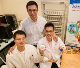 新型锂钛白粉离子电池充满电可待机20年