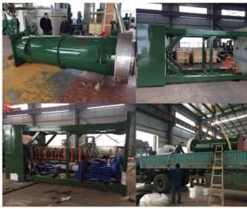 长沙万华粉体LXJM1600型湿磨机成功出口埃及