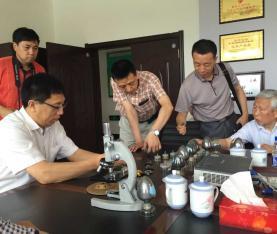 中国工程院赵连城院士指导鸡西规划石墨产业发展方向