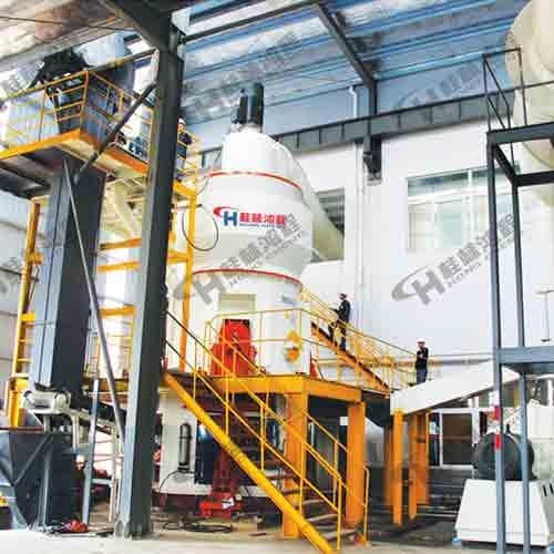桂林鸿程HLMX超细立式磨粉机大型水泥生料立磨机