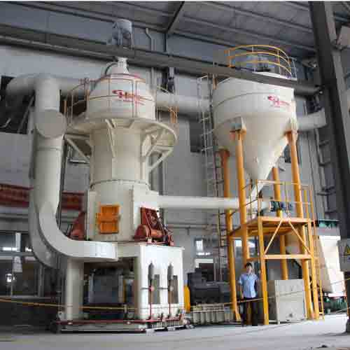 HLMX系列超细立式磨粉机硅灰石、锆英砂、水渣立磨