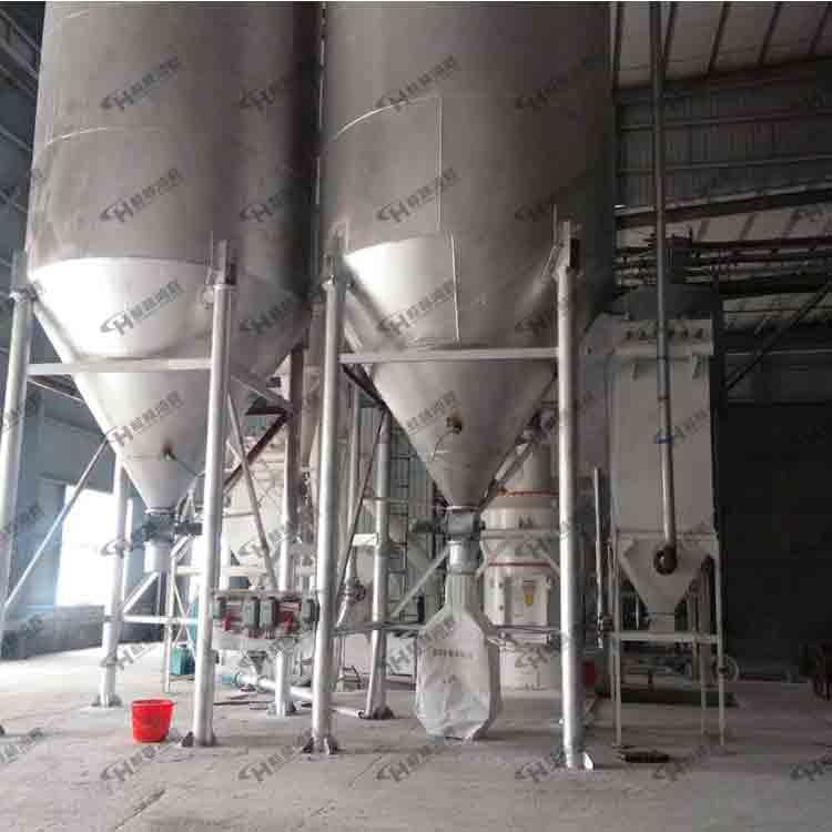 HCQ系列磨粉机应用于冶金、建材、化工、矿山等领域内矿产品物料的粉磨加工,适宜加工莫氏硬度七级以下,湿度在6%以下