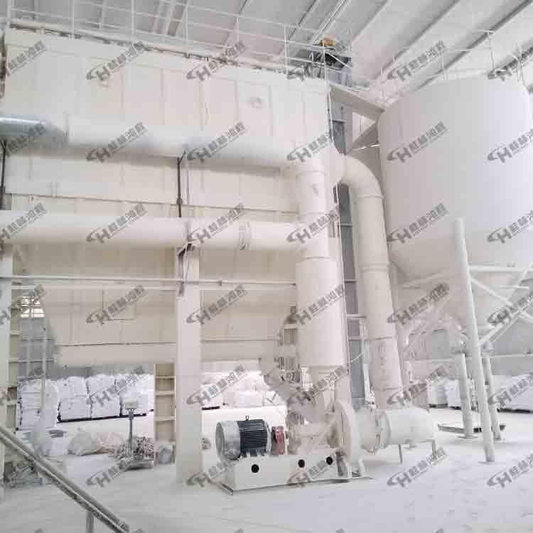 HCH超细环辊磨粉机碳黑、石灰超细磨粉机大型环辊磨