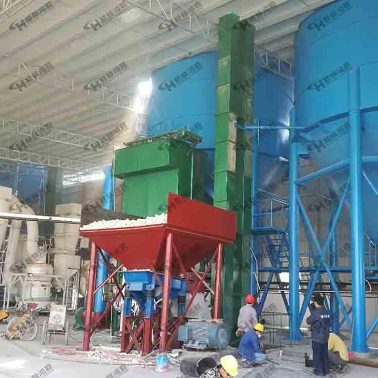 小型雷蒙磨粉机4R3218/4R3220中岭石、铝矿石雷蒙机