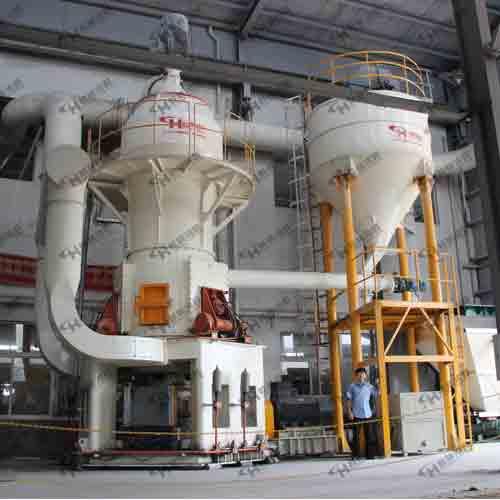 HLM立式磨粉机  钛白粉、铝矾土、大理石立磨机
