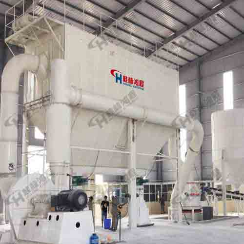 HCH超细环辊磨粉机大理石、长石、萤石、钛铁矿高细磨粉机