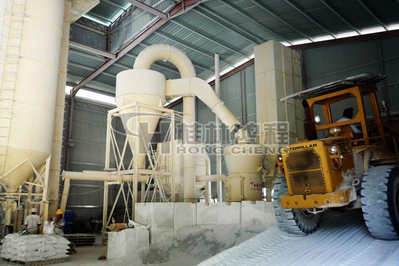 桂林鸿程雷蒙磨 锂辉石雷蒙磨机 花岗石粉体加工设备