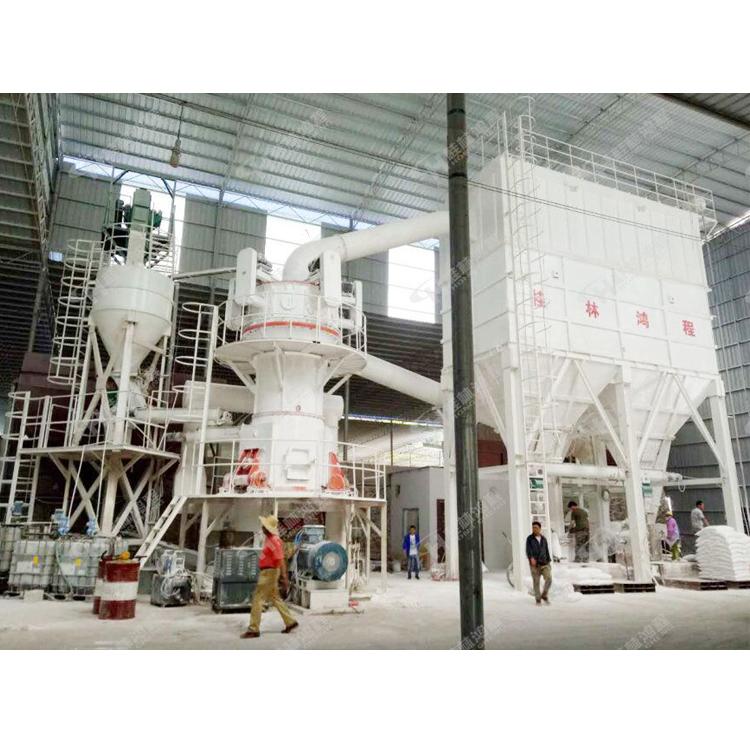 石灰石制粉系统熟石灰粉磨设备大型立磨