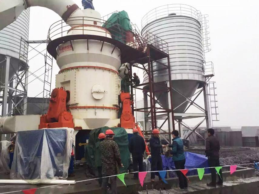 桂林鸿程HLM立磨机活性炭、石灰粉、重钙立式磨粉机