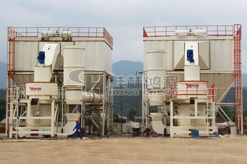 上海国产磨粉机碳酸锰、重钙、石灰石雷蒙磨粉机