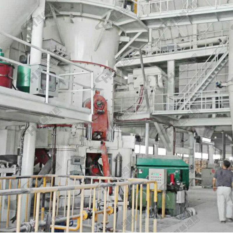 大型粉体加工设备白矾、褐铁矿、萤石粉立式粉磨机
