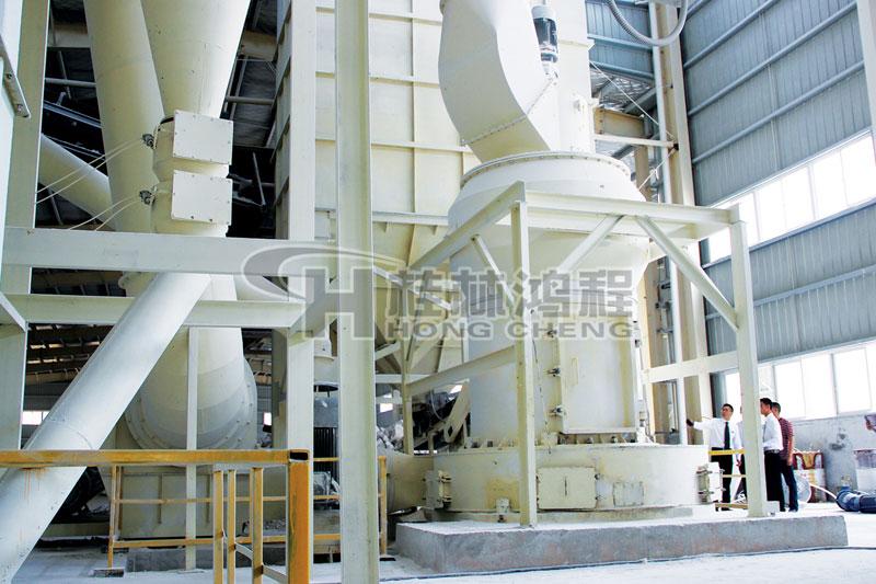 铝矾土雷蒙机石灰石制粉加工生产线雷蒙磨粉机