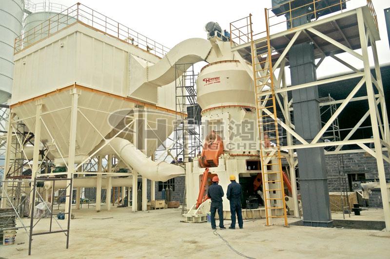 超细磨粉机广西立磨锰矿钛铁矿细粉立式磨