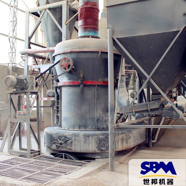 立式磨 mtw1138粉磨系统 硅粉成套加工设备及价格