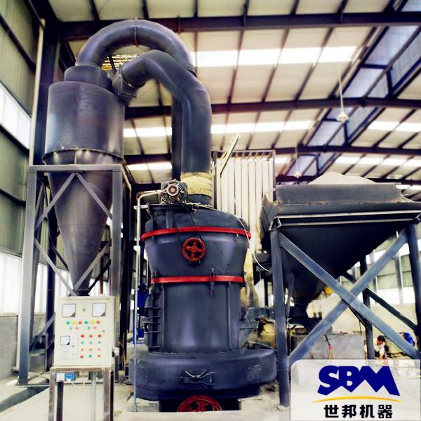 方解石矿粉厂用设备 钙粉厂用雷蒙磨 重晶石磨粉机