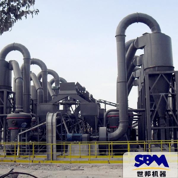 雷蒙磨 石灰石脱硫剂磨粉机 活性炭磨粉流程