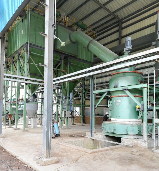 石灰石制粉系统 氢氧化钙生产线 雷蒙磨粉机
