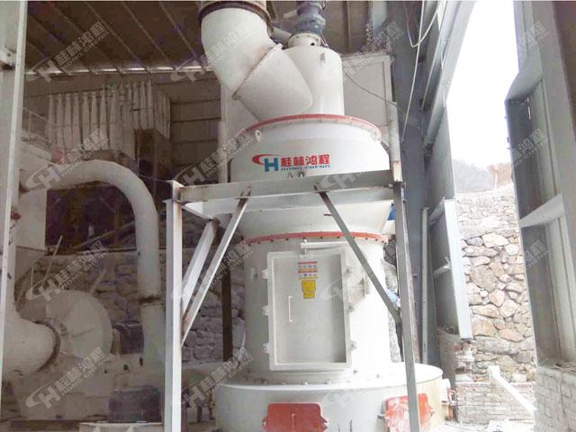 鸿程HC系列高压悬辊磨粉机莫来石腻子粉梯形磨雷蒙磨机