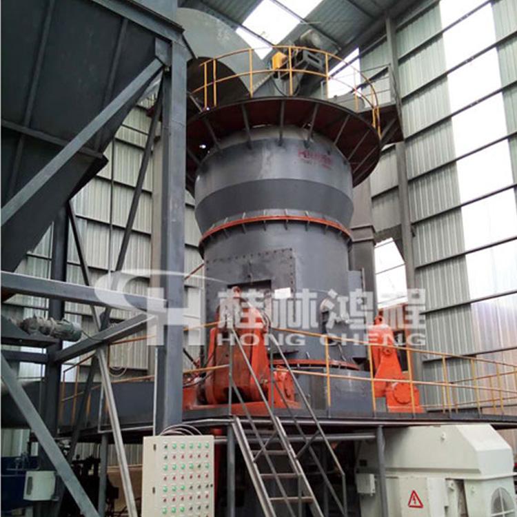 河南鸿程立式磨粉机厂家青石赤铁矿大型立磨机细粉打粉机