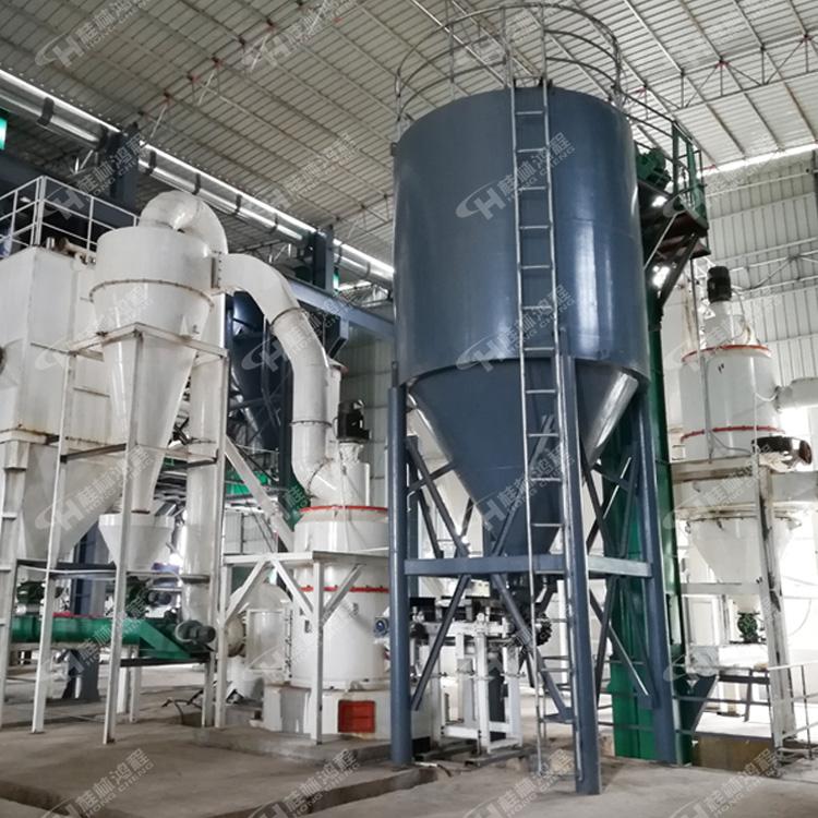 欧版磨粉机石英石小型碎石机方解石雷蒙机磨粉设备