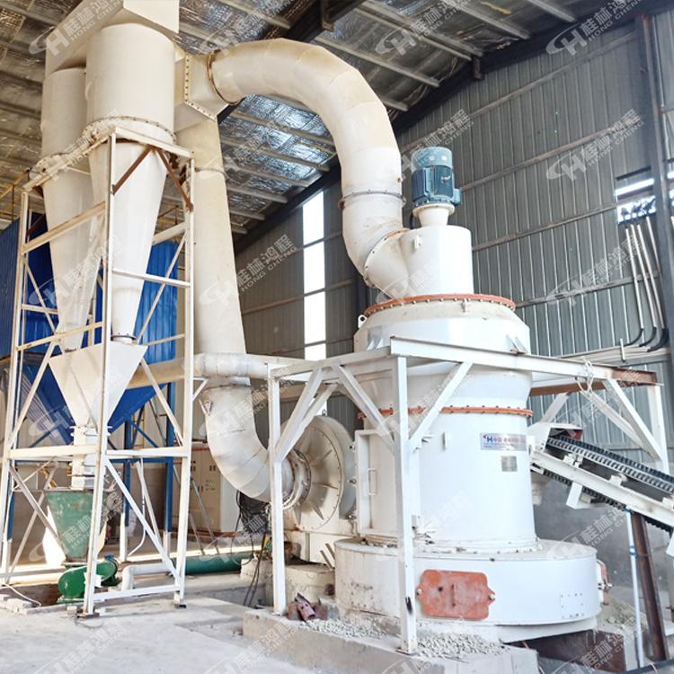 安徽磨粉机厂家 HCQ新型磨机 绢云母 小型粉磨设备 锂辉石 雷蒙磨