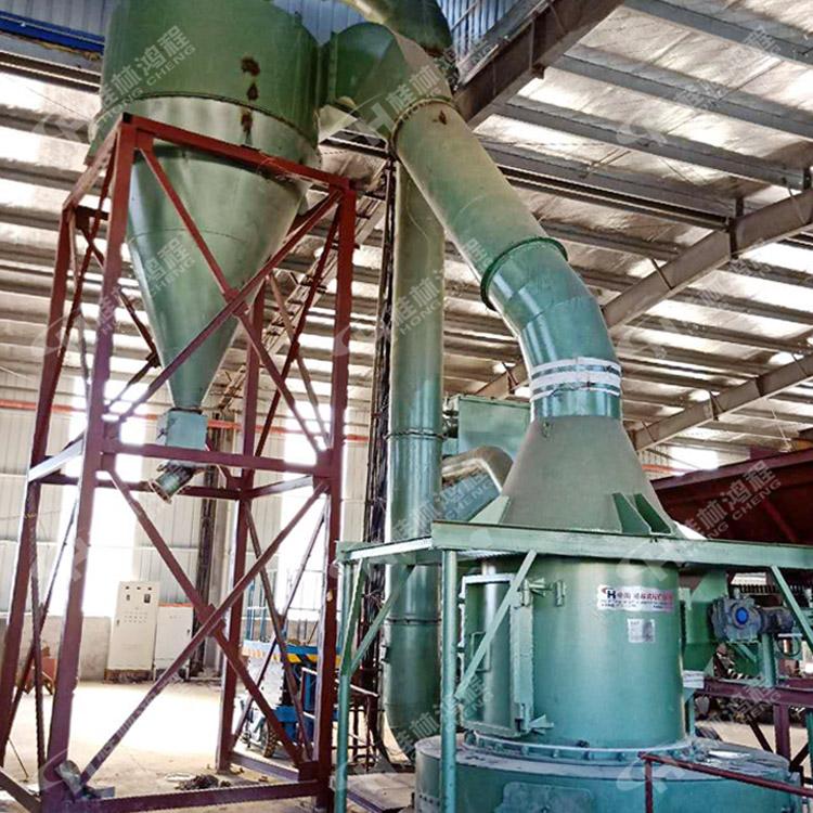5R机 氧化钙制粉系统 硅灰石雷蒙机 砂石料粉体生产线
