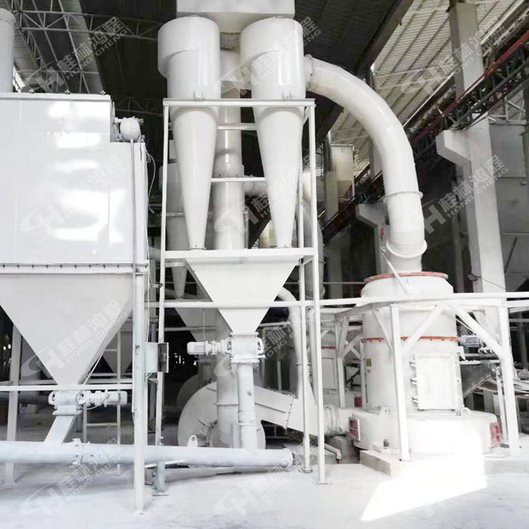 高压雷蒙磨 重晶石磨机 大理石细粉制粉设备