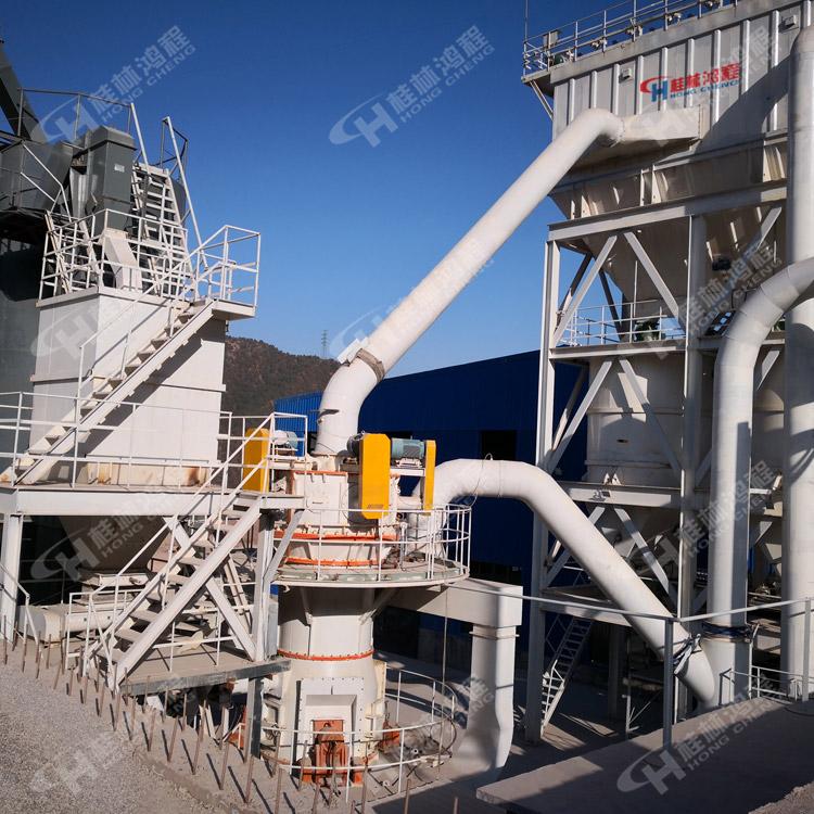 内蒙古磨粉机|矿粉生产设备|碳酸钙雷蒙磨|鸿程磨机厂家