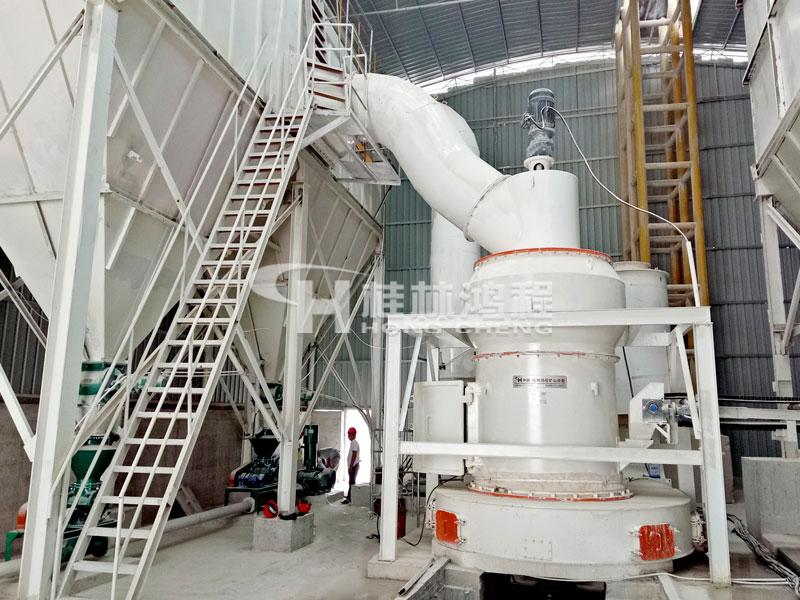 摆式磨粉机 矿石粉碎机 高岭土磨粉机 鸿程HC1700