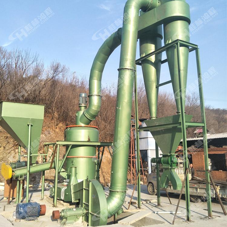 重晶石粉末雷蒙磨 鸿程大型磨粉机 HC2000粉碎雷蒙机